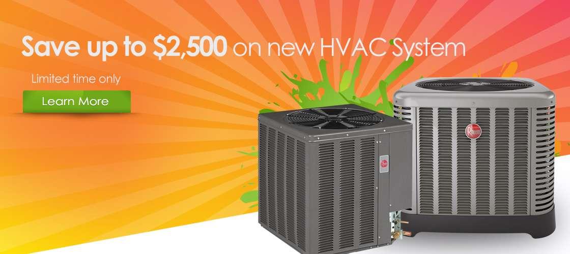 New HVAC Specials