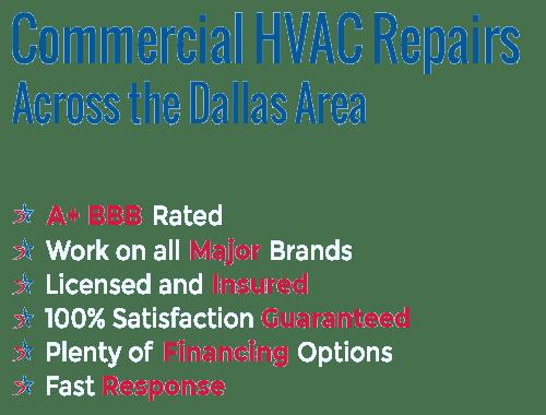 Commercial HVAC Repairs