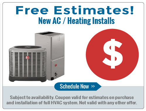 Free Estimates on all AC & Heating Installations
