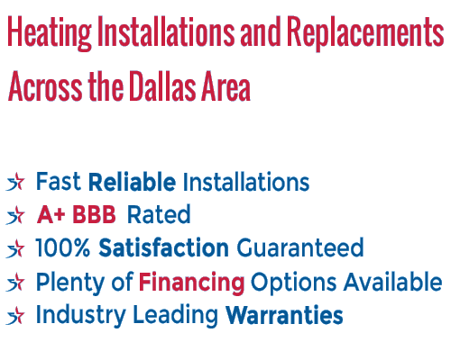 Heating / Furnace Installations & Replacements