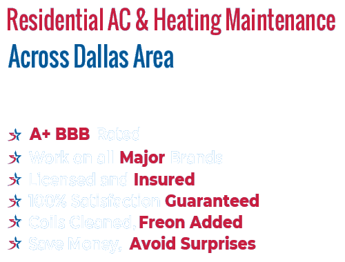 Residential AC & Heating Maintenance