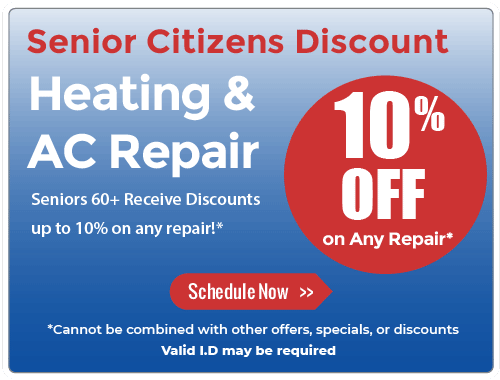 10% off Discount for Senior Citizens