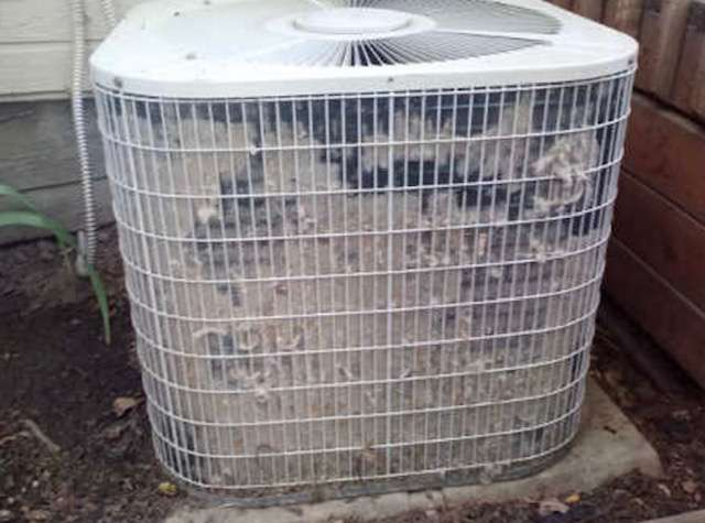 A/C repair Tips Wash Outdoor unit